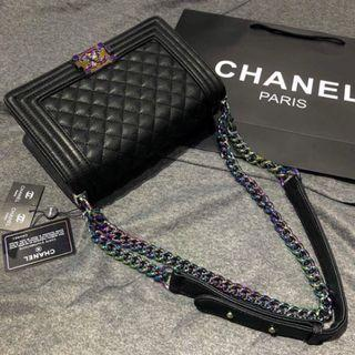 Chanel Le Boy Quilted Bag - RM85