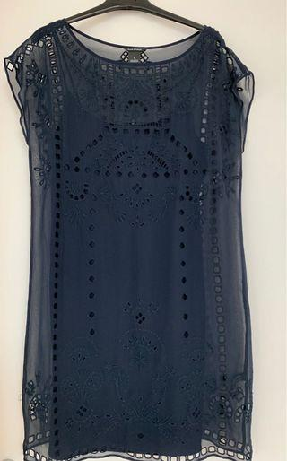 Club Monaco Embroidered Dress