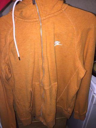 Orange Nike Sweater