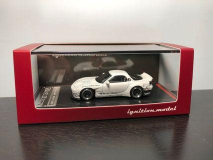 Ignition 1/64 Rocket Bunny IG RX7 (FD3S) White (RB-Wheel)