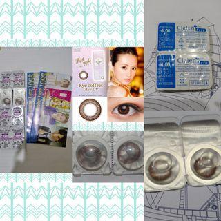 (共5對) Clalen One Day Iris Con / Seed Eye coffret 1 Day UV Con 每日即棄型 彩妝 隱形眼鏡 (Toric款) <度數: -4.00> 附$100現金券