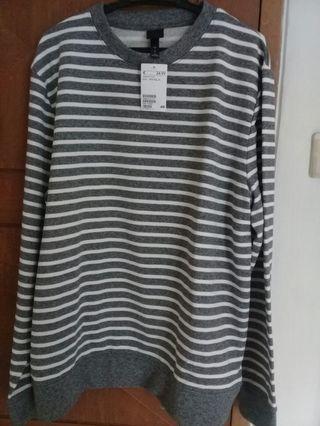 Sweatshirt stripe h&m