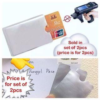 Credit card protector / protection sleeve (RFID anti-scan [anti-theft]) [uncle anthony uac ] FOLLOW THIS LINK B4 U CHAT TO ORDER: 👉 http://carousell.com/p/130062042