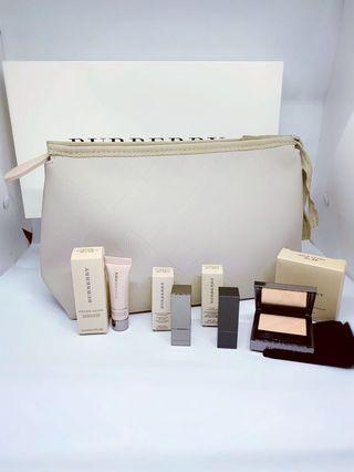 Burberry gift set/ pouch/ make up set/Burberry 化妝袋 #mtrtm