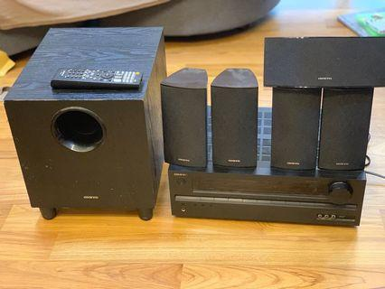 🚚 Onkyo HT-R391 home theatre system
