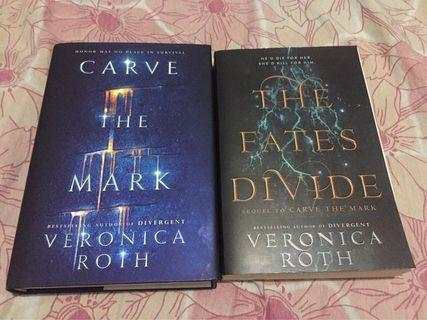 Carve the Mark and The Fates Divide