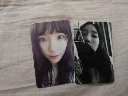 TAEYEON OFFICIAL PHOTOCARD