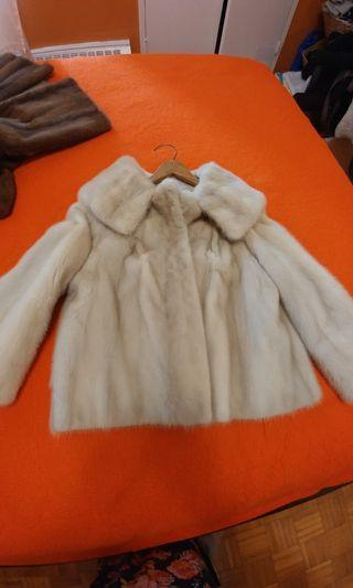 Real mink coat. Excellent condition.