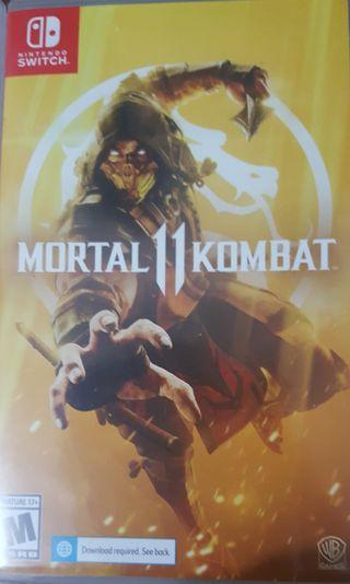First Come First Served Mortal Kombat 11 Nintendo Switch