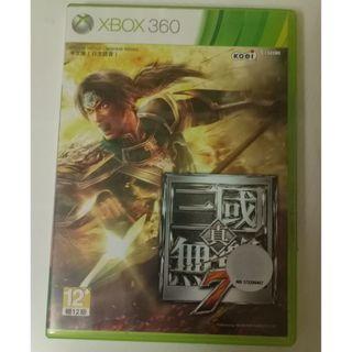 中文版 真三國無雙7 XBOX 360