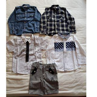 Cheap kid's clothes 4-5 years old with free cute hangers