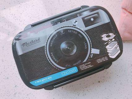 菲林相機型便當盒