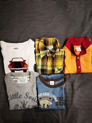 🚚 Boys' Long Sleeve Clothes