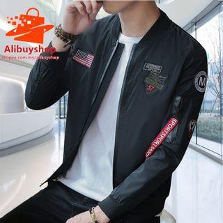 J💥COOL💥acket Men Jacket Bomber Jacket Men Jacket