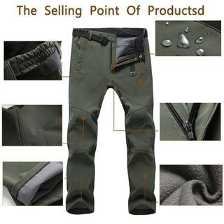 💥LATEST💥Thicken Men's Waterproof Trousers Pants Casual