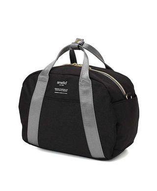 💯 Authentic Black Anello Heather Mini Boston Bag