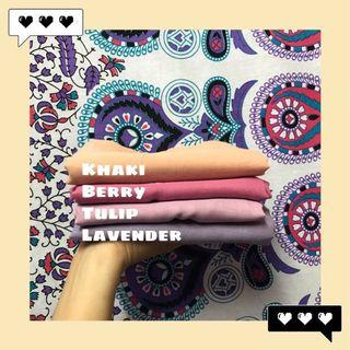 Bawal cotton voile RM10