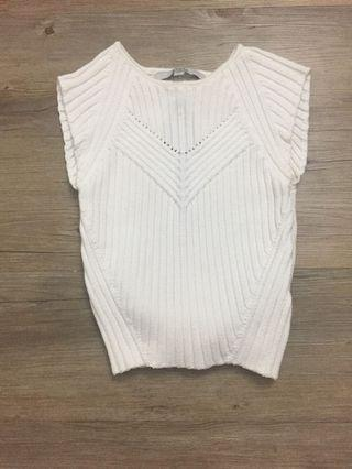 Cap Sleeve Knit Crop Top