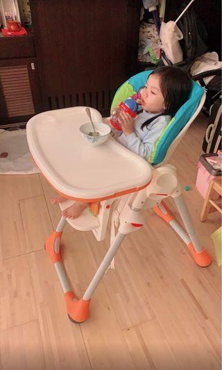 嬰幼兒兩段式高腳餐椅