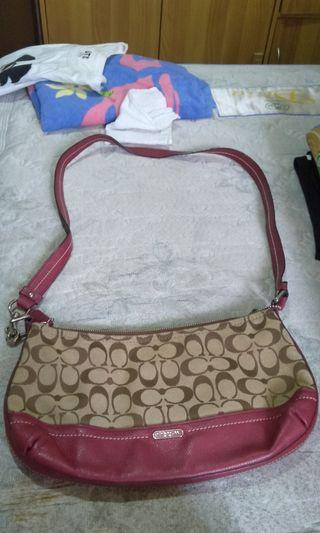 Authentic Coach sling bag