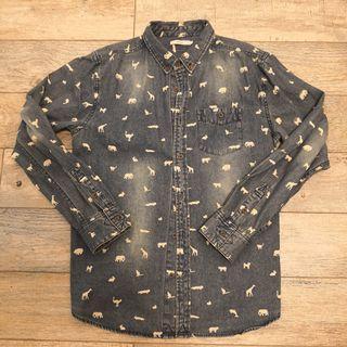 日本牌子 Graniph 牛仔裇衫