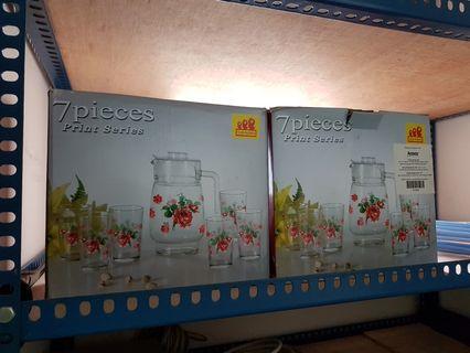 Glassware 7 pcs x 2sets
