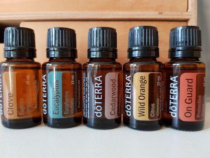 🚚 Doterra Essential Oils