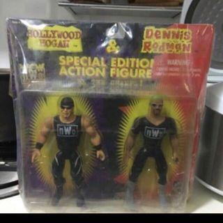NWO Hulk Hogan and Dennis Rodman Figures Set