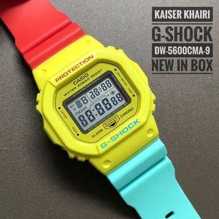 Casio G-Shock DW5600CMA-9 Breezy Rasta