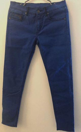 Issue Blue Pants Size 8