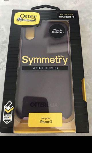 OtterBox Symmerty series sleek protection -iPhone X / Xs
