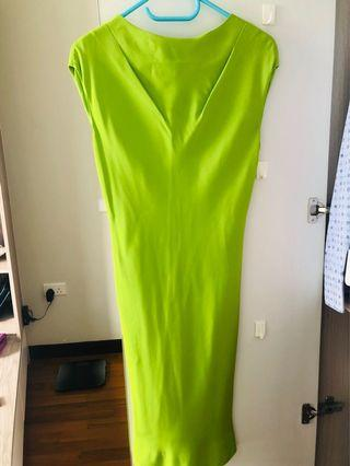 🚚 Silk Dress - Tailer Made