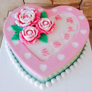 "8.2"" Flower Heart Agar Jelly"
