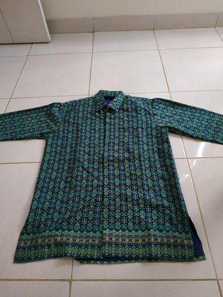 Kemeja Batik Songket Asli Palembang kondisi baik #mauthr