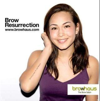 [~40% off] Browhaus Brow Resurrection Classic + 1 touchup + Aftercare Kit
