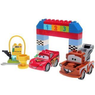 Duplo 10600 Disney Pixar CARS Race COMPLETE