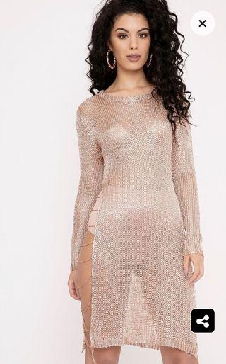 Size 14 Rose Gold Dress