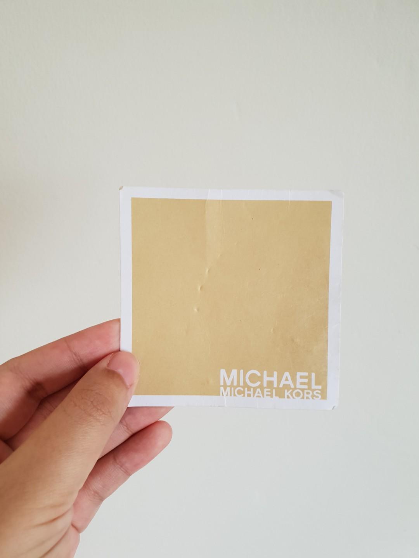 100% Authentic Michael Kors Tote Bag (Brown)