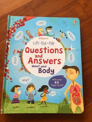 Questions and Answers about your body (lift-the-flap)