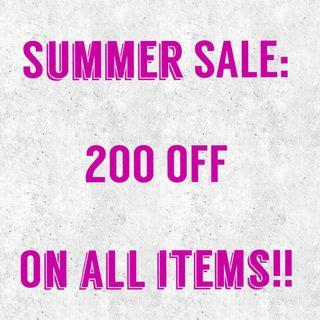 200PHP OFF on all items!!!