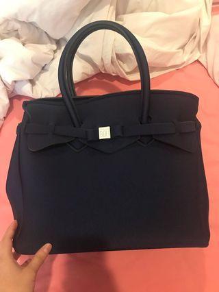 Save My Bag navy