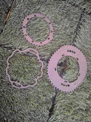oval chainring 53t/39t