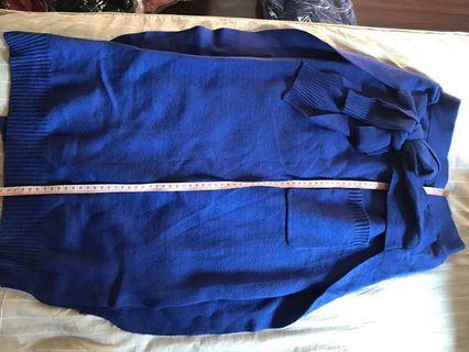 🚚 New Knitted blue skirt