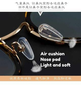 🚚 Air chamber silicone nose pad for Eyeglasses
