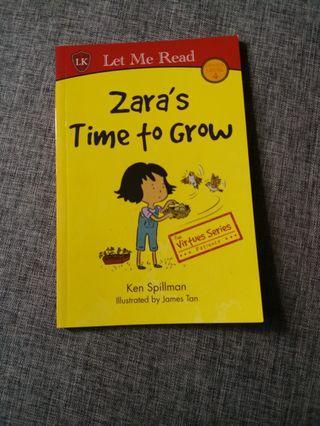 🚚 Children books - Zara's Time to Grow