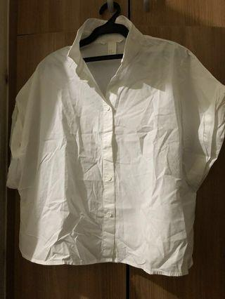 Crop top blouse Uniqlo