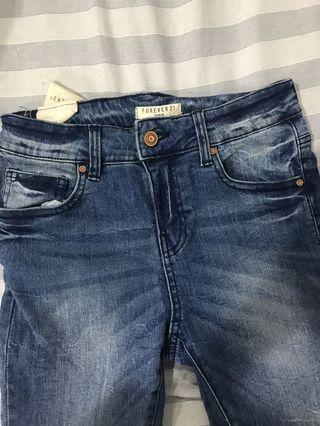 Forever 21 Mid Rise Jeans