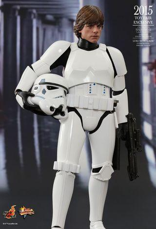 MMS 304 Hot Toys - Star Wars 1/6th scale Luke Skywalker (Stormtrooper Disguise Ver)