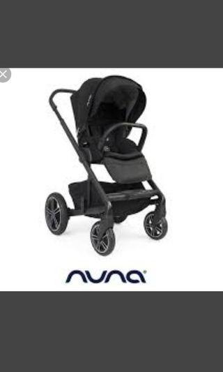 nuna雙向嬰兒推車☺誠可議