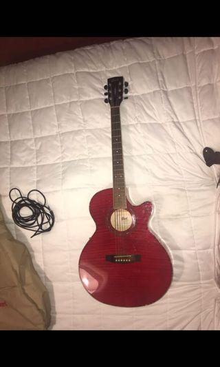 Cory Guitar and Belcat Amp